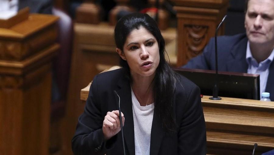 A deputada do BE Mariana Mortágua