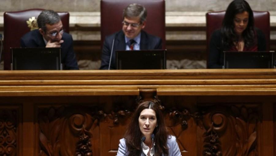 A vice-presidente da bancada do CDS-PP Cecília Meireles