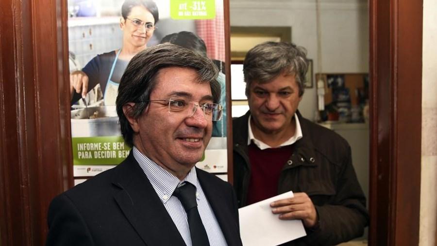 O candidato presidencial Paulo Morais