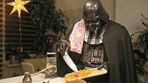 Darth Vader em casa