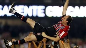 Rogério Ceni despede-se do futebol