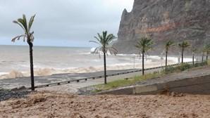 Madeira sob aviso amarelo no domingo
