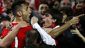 Ao minuto: Benfica 3-1 Rio Ave