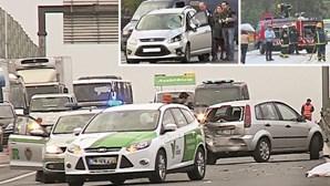 Mais 5 mil acidentes na estrada