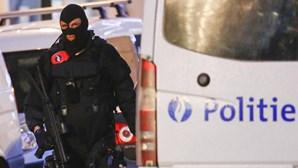 Detidas cinco pessoas desde domingo à noite em Bruxelas
