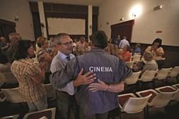 No final de mais um  filme. António Feliciano não planeia reformar-se, embora admita que o seu ofício tem forte concorrência da internet e da televisão