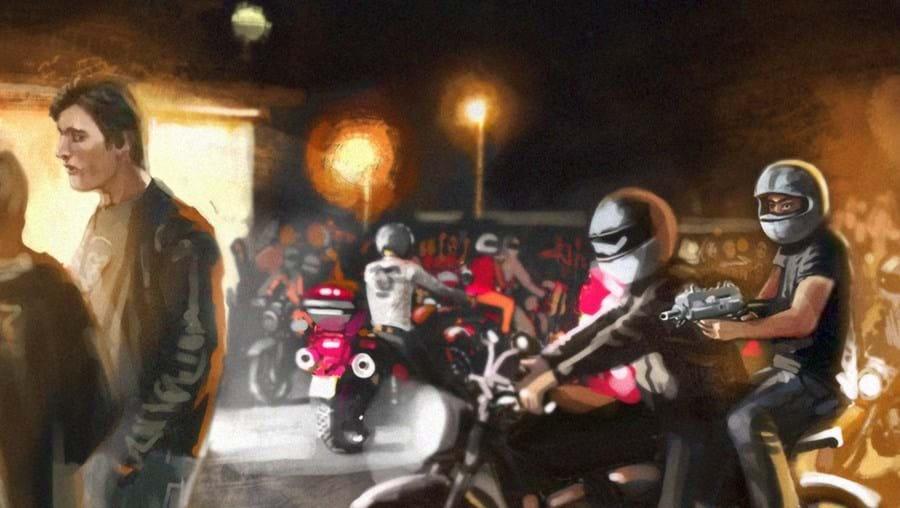 As motos usadas nos crimes, sempre da marca Honda, eram furtadas previamente
