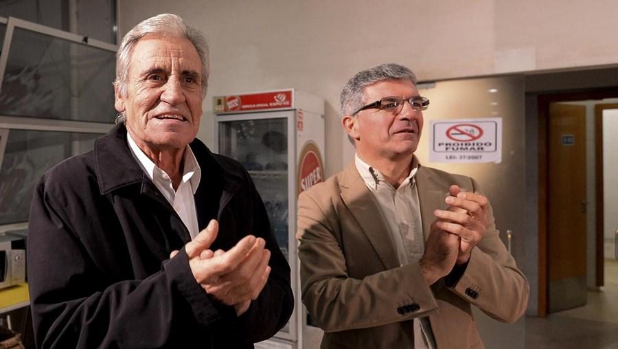 """Edgar Silva (dir) deixou um apelo para que todos """"deem o litro"""" na campanha"""