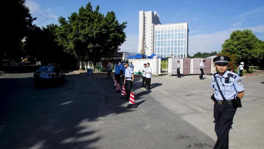 O Tribunal Popular Intermédio de Sanming, na província de Fujian, vai tratar a queixa