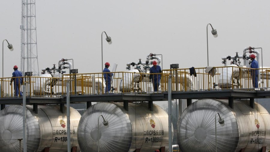 O gasoduto estará concluído em dezembro de 2019