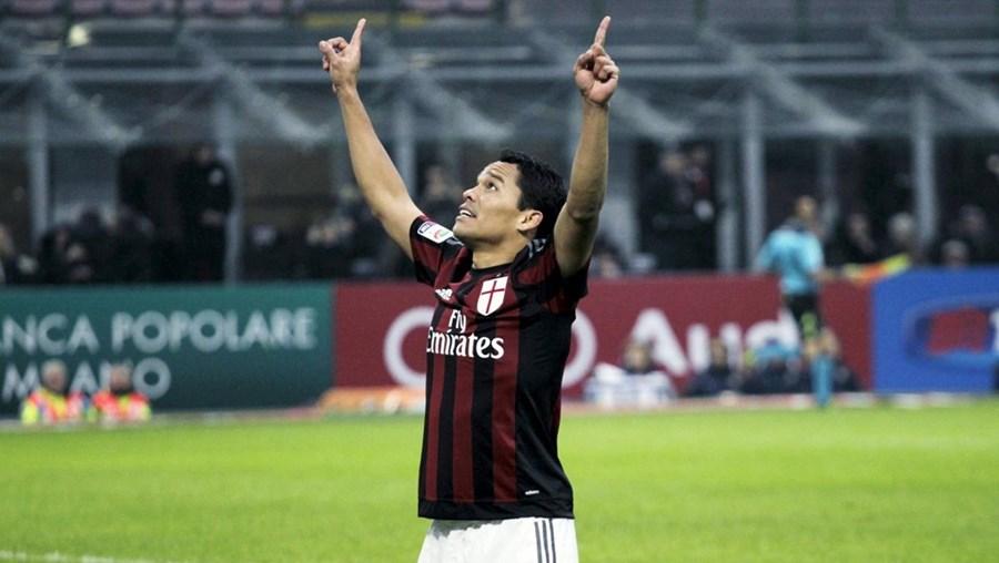 Carlos Bacca marcou o golo do AC Milan
