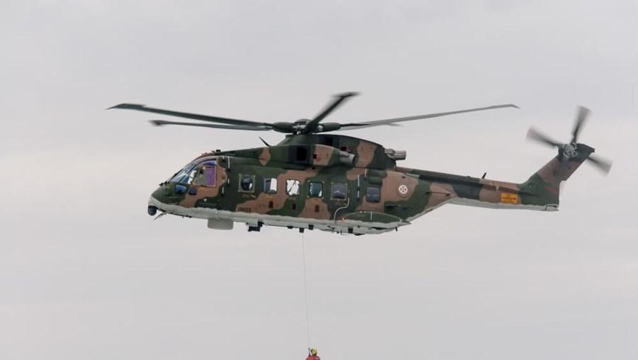 Helicóptero da Força Aérea EH-101 Merlin