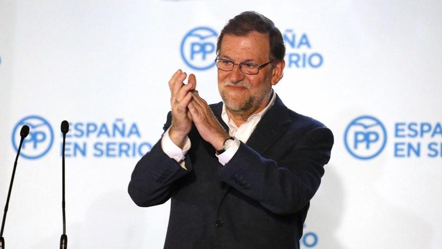O PP, de Mariano Rajoy, venceu, com 123 deputados, as eleições em Espanha