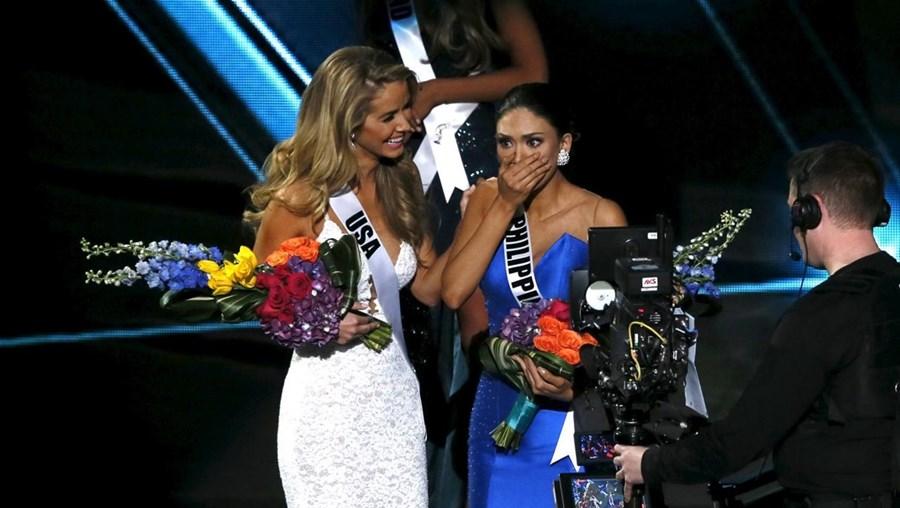 Miss Filipinas já não contava receber o principal prémio da noite