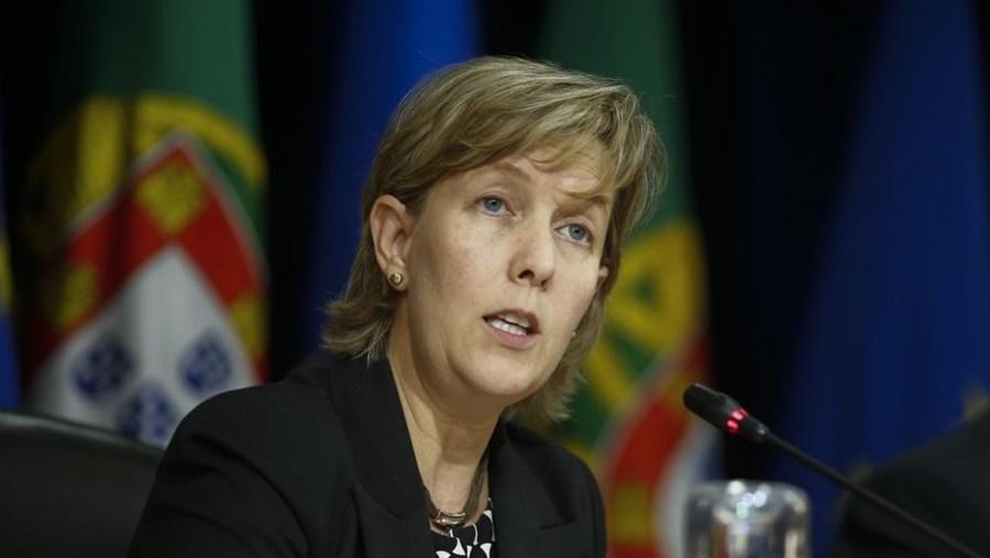 Maria Luís Albuquerque, ex-ministra das Finanças