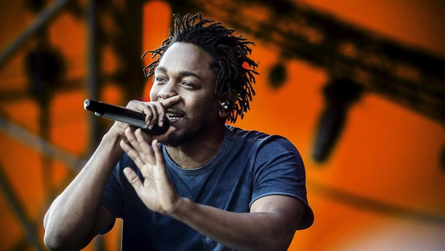 O rapper norte-americano, Kendrick Lamar