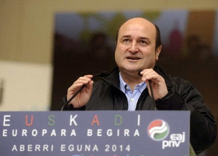 Andoni Ortuzar, presidente do Partido Nacional Basco