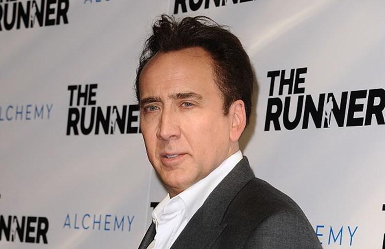 O ator norte-americano Nicolas Cage