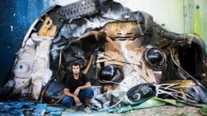 Cinco artistas urbanos levam obras a Roma