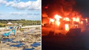 Retail Park destruído pelo fogo foi comprado por americanos