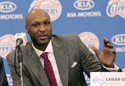 O ex-basquetebolista Lamar Odom