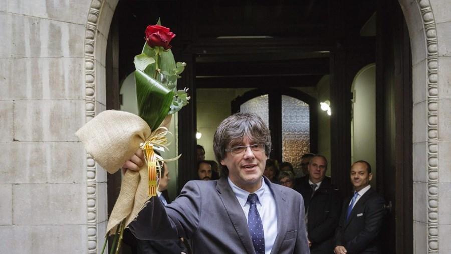 Carles Puigdemont, presidente regional da Catalunha