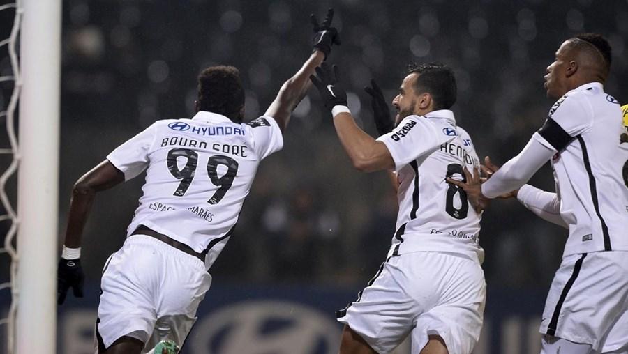 Bouba Saré marcou o golo do Vitória de Guimarães