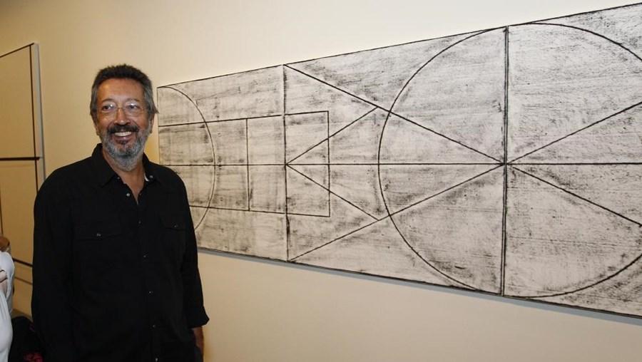 O pintor português Julião Sarmento