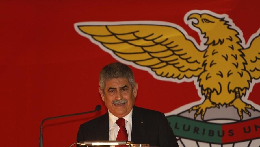 O presidente do Benfica Luís Filipe Vieira