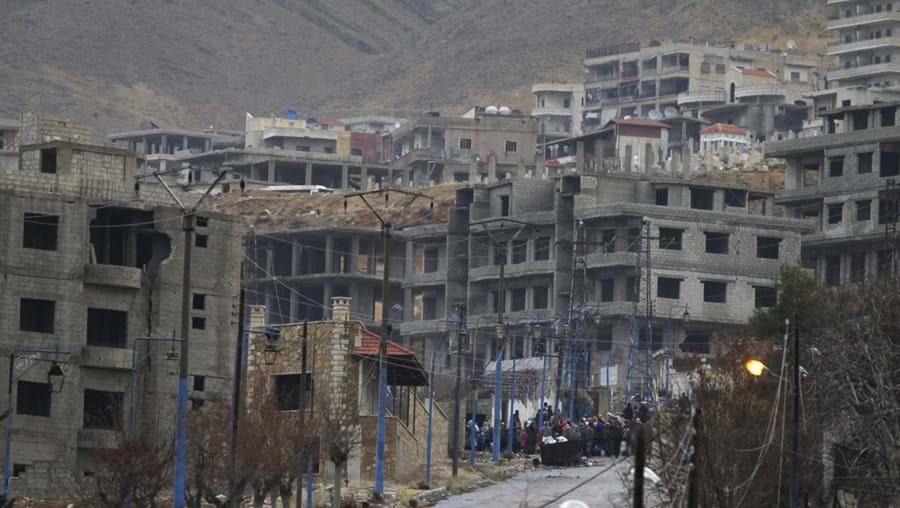 Localizada na província de Damasco, Madaya está cercada pelas tropas governamentais