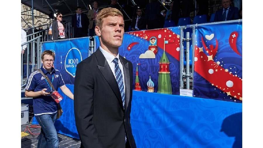 Kokorin, avançado de 24 anos, fez toda a sua carreira no Dinamo Moscovo