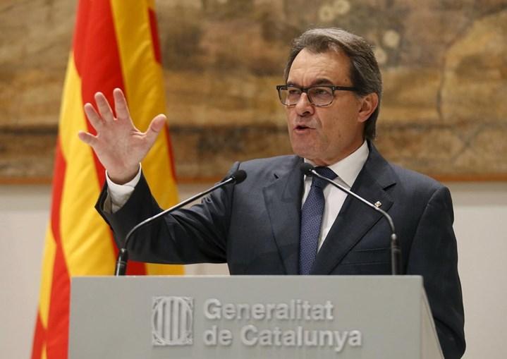 Artur Mas presidiu ao governo regional da Catalunha