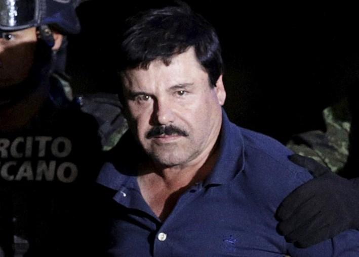 'El Chapo' foi detido a 8 de janeiro