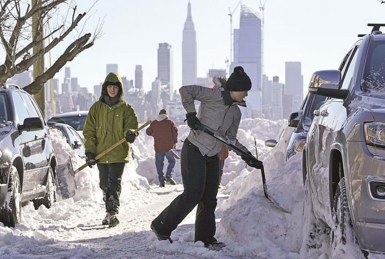 Neve em Nova Iorque