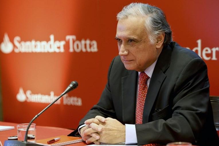 Vieira Monteiro é o presidente do Banco Santander Totta