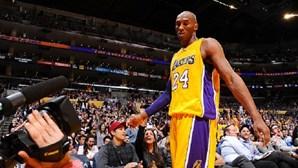 Kobe Bryant fez melhor marca da época