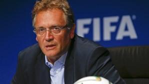 Pedidos três anos de prisão para Valcke, 'número dois' da FIFA e 28 meses para o presidente do PSG