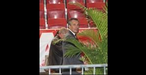 Antigo dirigente do Benfica durante as eleições no clube da Luz, na época 2012/2013