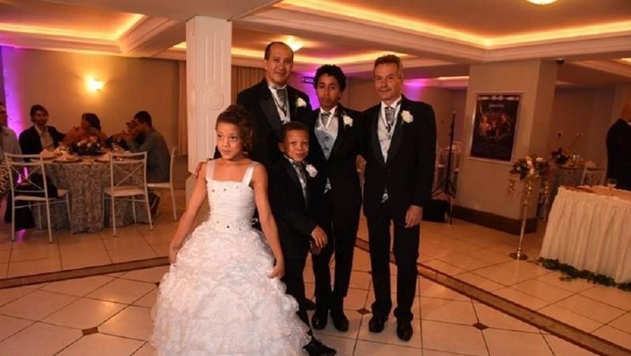 A família de Toni Reis