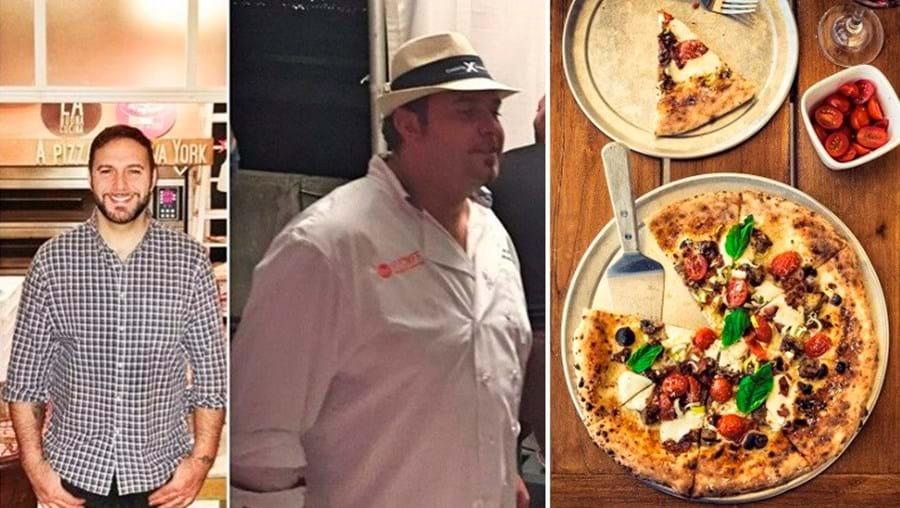 Pasquale Cozzolino perdeu quase 50 quilos a almoçar apenas uma pizza de queijo, tomate e manjericão