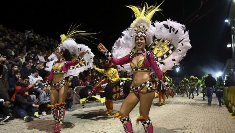 O corso carnavalesco