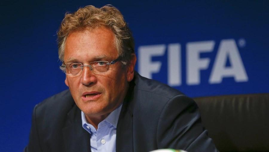 O  antigo secretário-geral da FIFA Jérôme Valcke