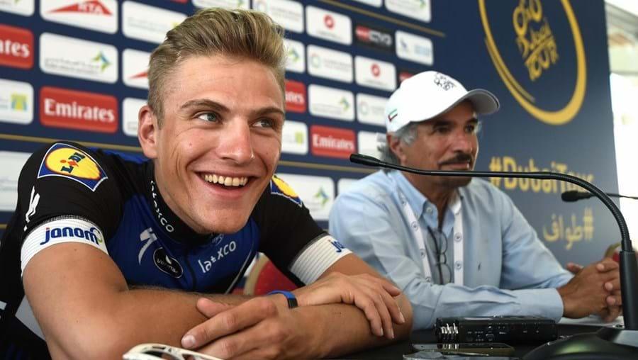 O ciclista alemão Marcel Kittel