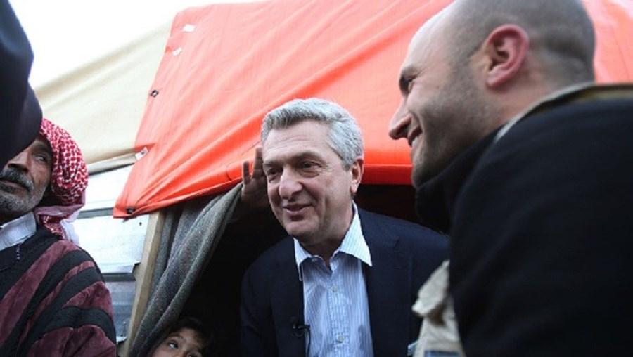 Filippo Grandi visitou o centro de registo ('hotspot') de Lesbos