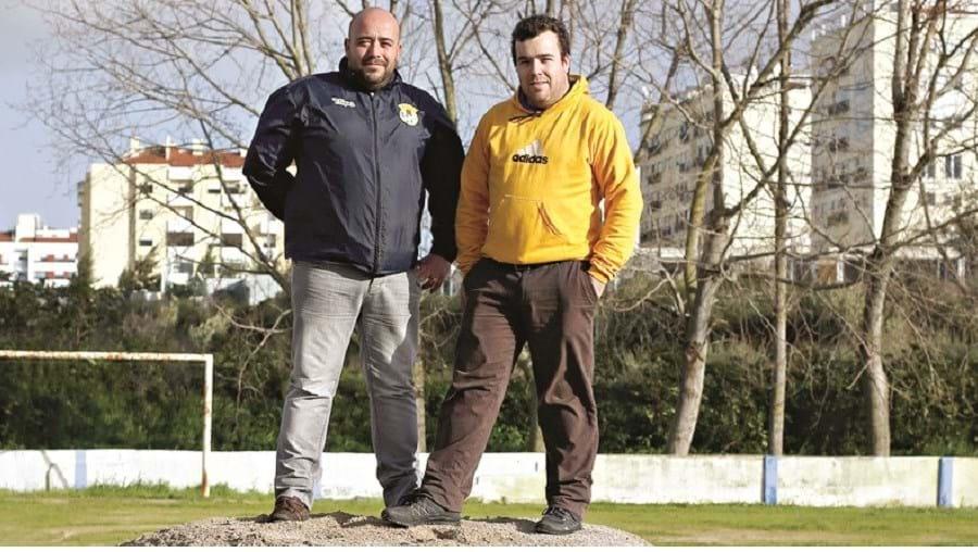 Nuno e Tiago Eloy, irmãos, desempenham os cargos de presidente e vice-presidente do clube e prometem não desistir