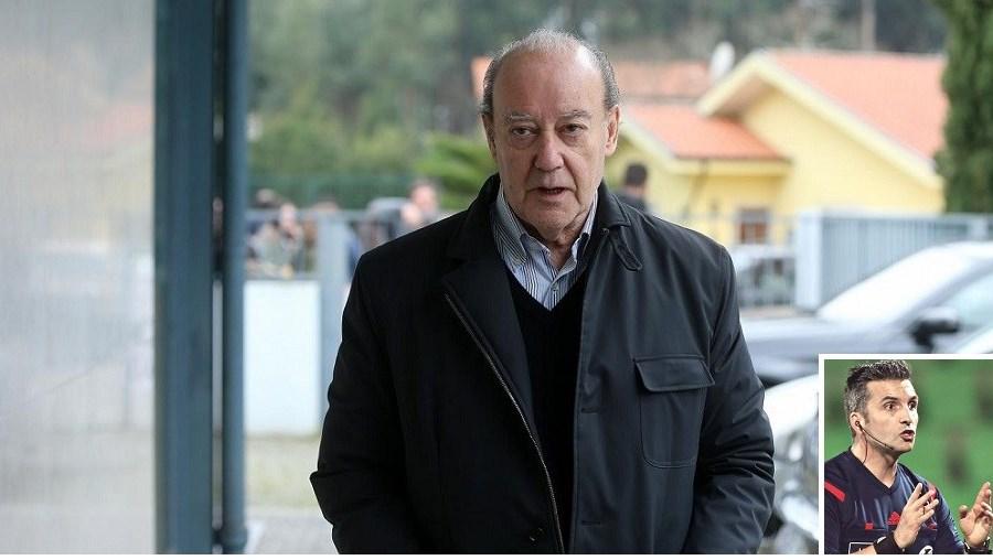 Pinto da Costa e a estrutura  do FC Porto  criticaram o  facto de Rui  Costa ter anulado um golo  a Brahimi  no jogo com  o Arouca