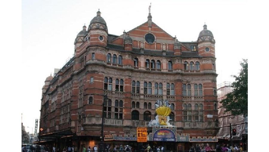 O espetáculo irá subir ao Palace Theatre, em Londres