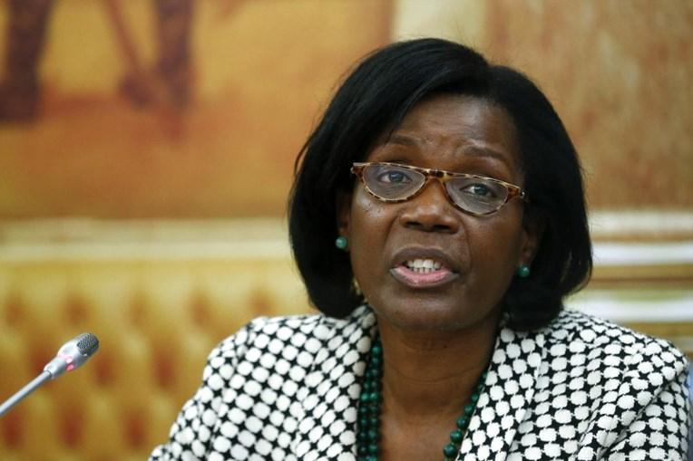 A ministra da justiça, Francisca Van Dunem