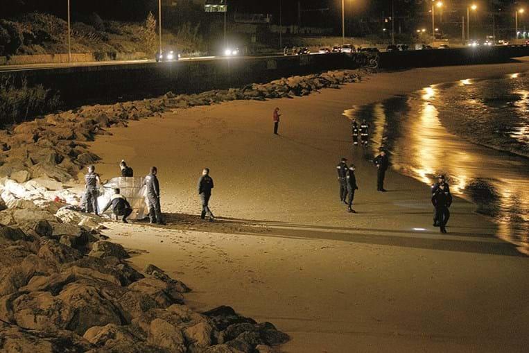 Autoridades procuram criança de quatro anos na praia da Giribita