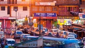 Dois mortos e 33 feridos em acidente com minibus em Nairobi